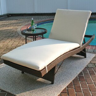 Siesta Chaise Lounge with Cushion (Set of 2)