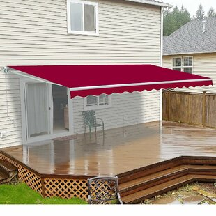 13 ft. W x 8 ft. D Retractable Patio Awning by ALEKO