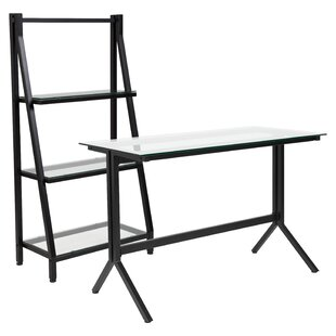 Ebern Designs Godwin 2 Piece Desk Office Suite
