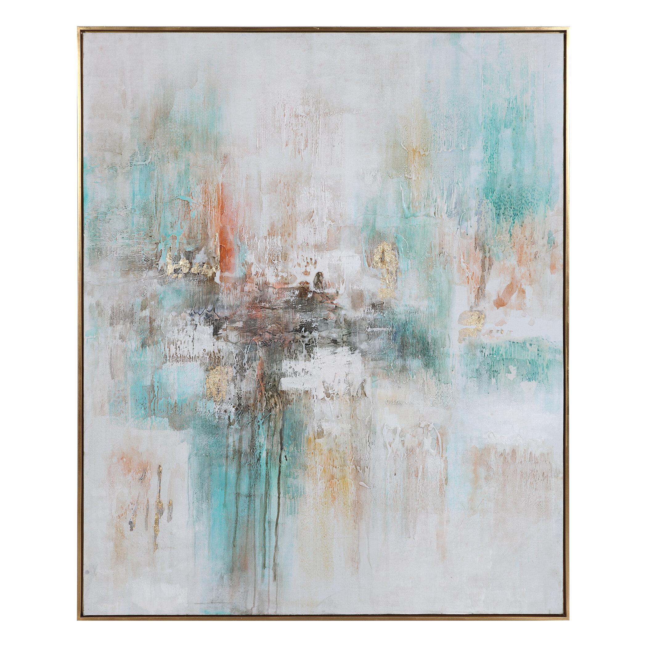 Brayden Studio Floater Frame Painting Print On Canvas Wayfair