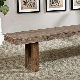 Tawanna Wood Dining Bench