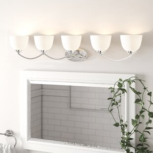 Kepner 5-Light Vanity Light By Winston Porter