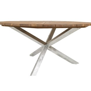 Hakon Steel Dining Table By Sol 72 Outdoor