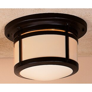 Arroyo Craftsman Berkeley 2-Light Flush Mount