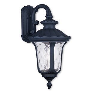 Best Reviews Gurnee 3-Light Outdoor Wall Lantern By Three Posts