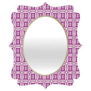 Deny Designs Khristian A Howell Desert Twilight Quatrefoil Accent Mirror