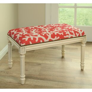 123 Creations Coastal Upholstered & Wood ..