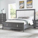 Lorraine Upholstered Storage Platform Bed by Brayden Studio®
