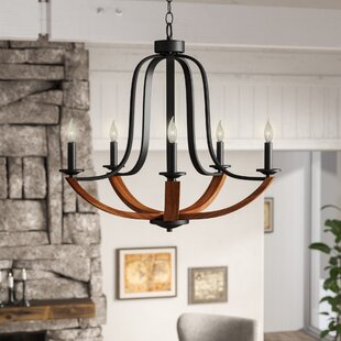 Gracie Oaks LaTeisha 5-Light Chandelier