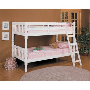 Eaddy Convertible Twin Over Twin Bunk Bed