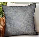 Gianluca Solid Luxury Indoor/Outdoor Throw Pillow