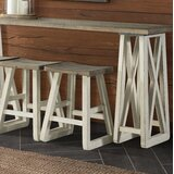 Charley 24 Bar Stool (Set of 2) by Highland Dunes