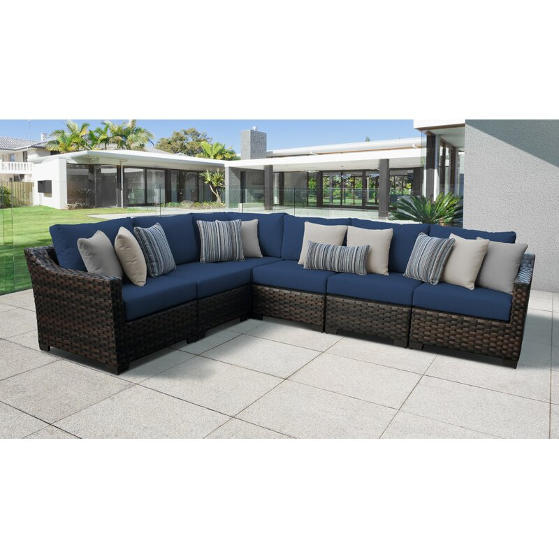 River Brook Patio Sectional With