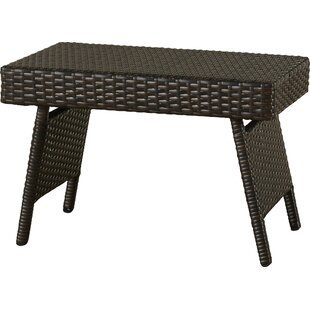 Rebello Wicker Side Table