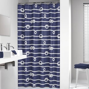Ferber Nautical Rope Single Shower Curtain