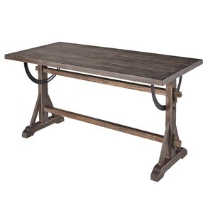 Best Reviews Laureen Solid Wood Dining Table By Gracie Oaks