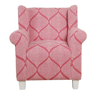 Idris Kids Cotton Accent Chair by Harriet Bee