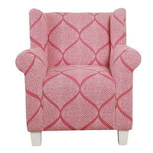 Idris Kids Cotton Accent Chair by Harriet Bee