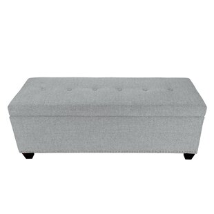 Woodside Upholstered Storage Bench by Millwood Pines Great Reviews
