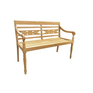 D-Art Collection Alwari Teak Garden Bench