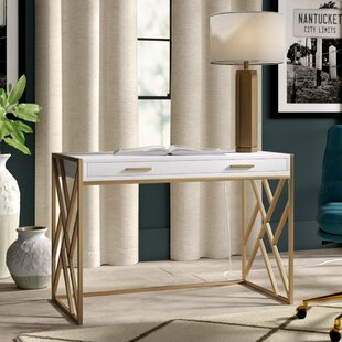 Cheryl 2 Drawer Writing Desk by Greyleigh Reviews