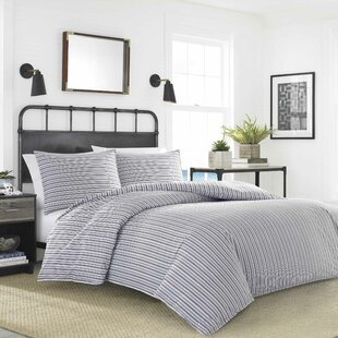 Coleridge Stripe Reversible Duvet Cover Set