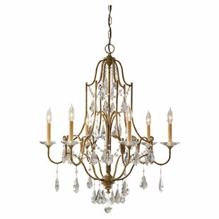 Drewett 6-Light Chandelier by Astoria Grand