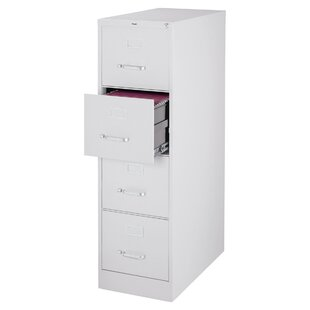 Symple Stuff Jolene 4 Drawer Commercial Letter Size Vertical Filing Cabinet