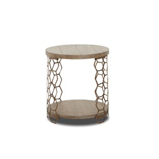Benefiel Bee Inspired Round End Table by ..