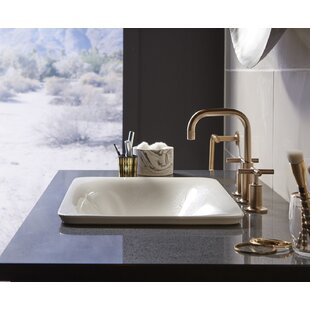 Kohler Sartorial Vitreous China Rectangular Vessel Bathroom Sink