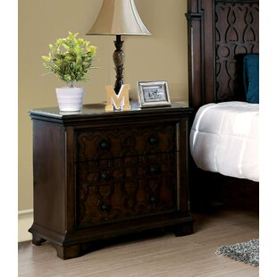 Hepscott 2 Drawer Nightstand by Astoria Grand