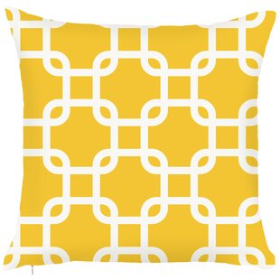 Costal Geometric Throw Pillow