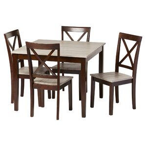 traditional dining room set. Tilley Rustic 5 Piece Dining Set Traditional Kitchen  Room Sets You ll Love Wayfair