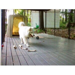 Basic Yard Kennel Raised Flooring System