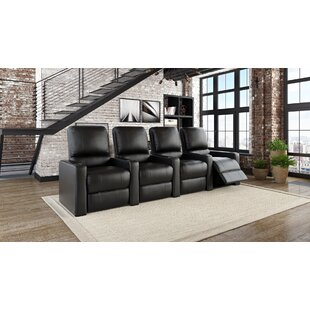 Latitude Run Contemporary Home Theatre Lounger (Row of 4)