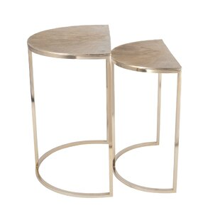Mchale 2 Piece Side Table Set By Bloomsbury Market
