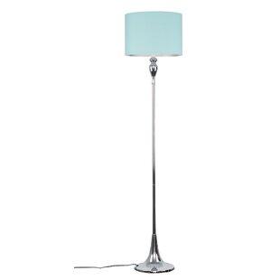 Navy blue floor lamp wayfair save aloadofball Images