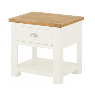 Amelia Side Table With Storage By August Grove
