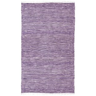 Check Prices Bruges Purple Area Rug By Bungalow Rose