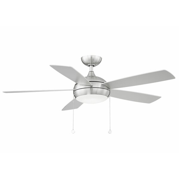Wac Lighting 52 5 Blade Propeller Ceiling Fan With Pull Chain And Light Kit Included Reviews Wayfair
