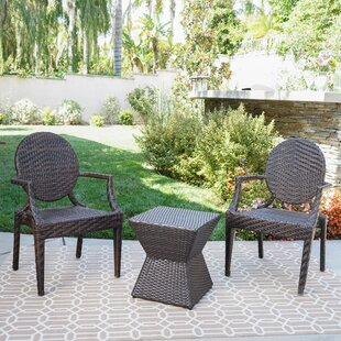 Hadar 3 Piece Conversation Set by Ophelia & Co.
