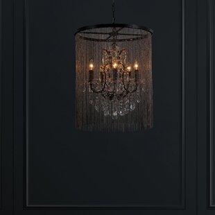 Magari Cascata I 5-Light Candle Style Cha..