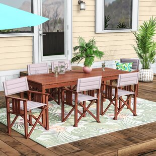 Foss Patio 7 Piece Dining Set