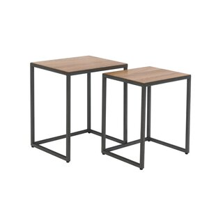 Akintunde 2 Piece Nest Of Tables By 17 Stories
