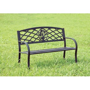 Hoggan Patio Metal Park Bench