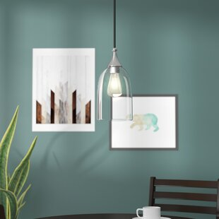 Low priced Scalf 1-Light Cone Pendant By Wrought Studio