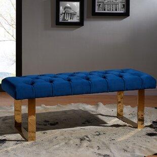 Mercer41 Luciani Upholstered Bench