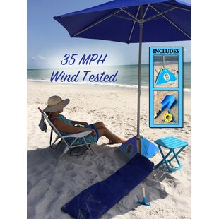Amani 7' Beach Umbrella