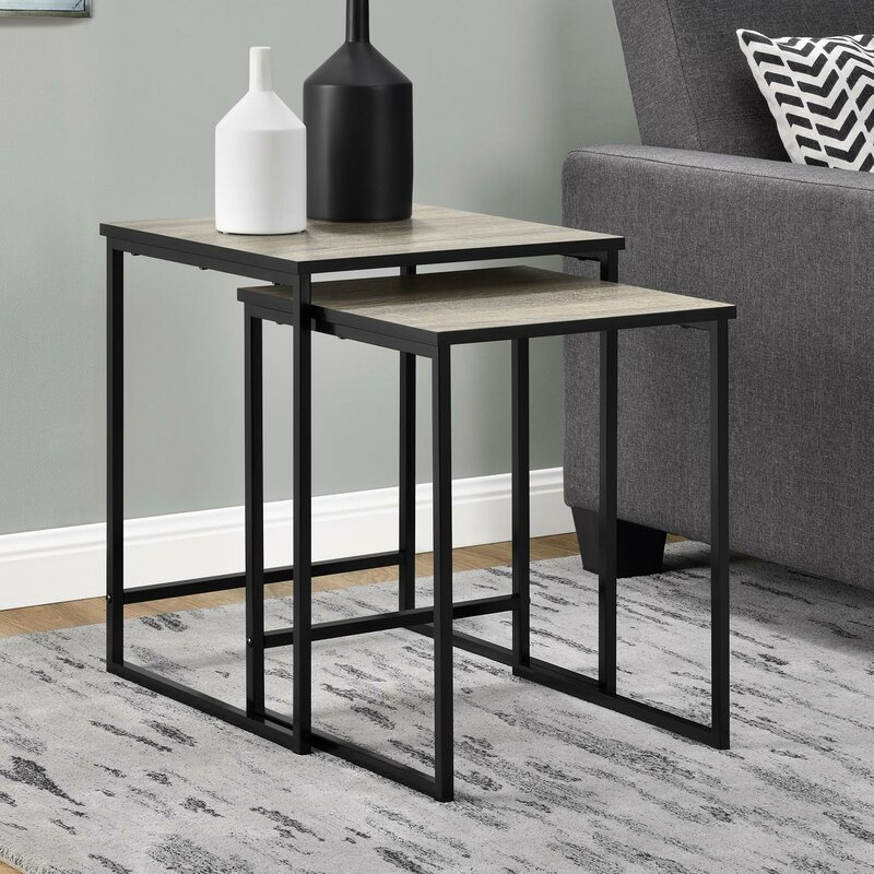 Mercury row caddell 2 piece nesting tables reviews wayfair caddell 2 piece nesting tables watchthetrailerfo