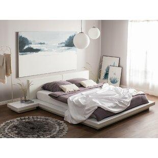 Janiyah European Super King (6') Upholstered Platform Bed By Ebern Designs
